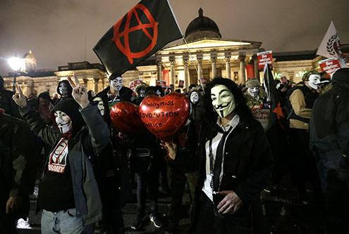 Britain Protest March