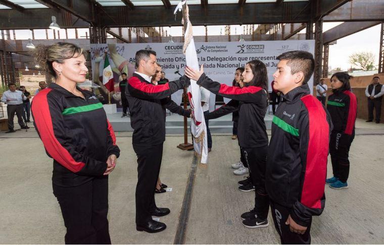 ABANDERAMIENTO OLIMPIADA NACIONAL 2018-1