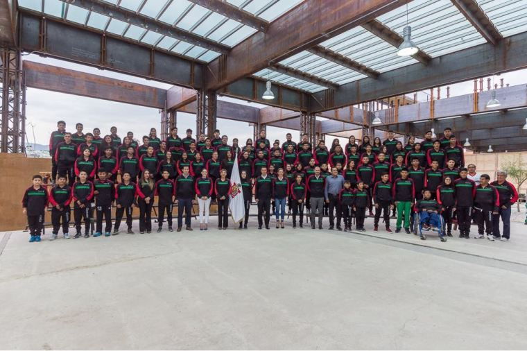 ABANDERAMIENTO OLIMPIADA NACIONAL 2018-2