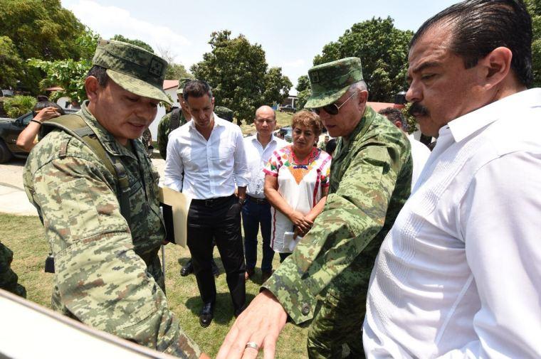 Constatan Gobierno de Oaxaca y SEDENA avances de reconstrucción de viviendas en Jamiltepec (6).jpeg