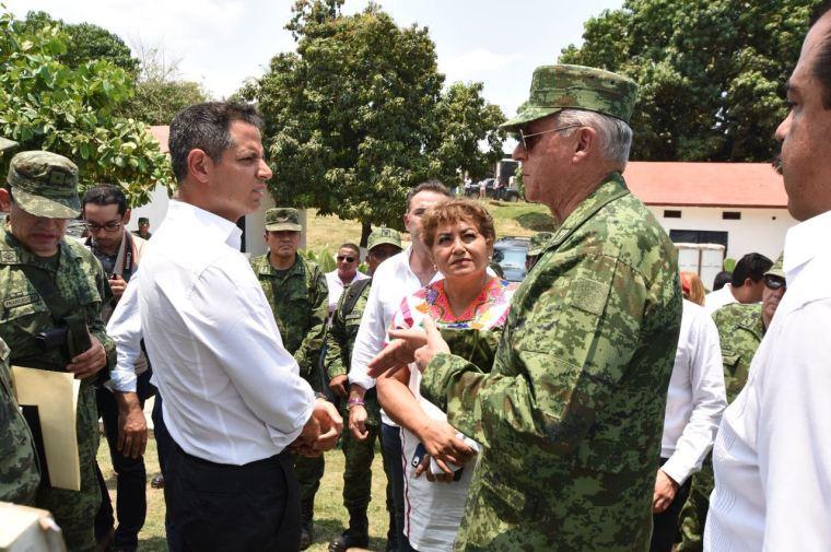 Constatan Gobierno de Oaxaca y SEDENA avances de reconstrucción de viviendas en Jamiltepec (7)