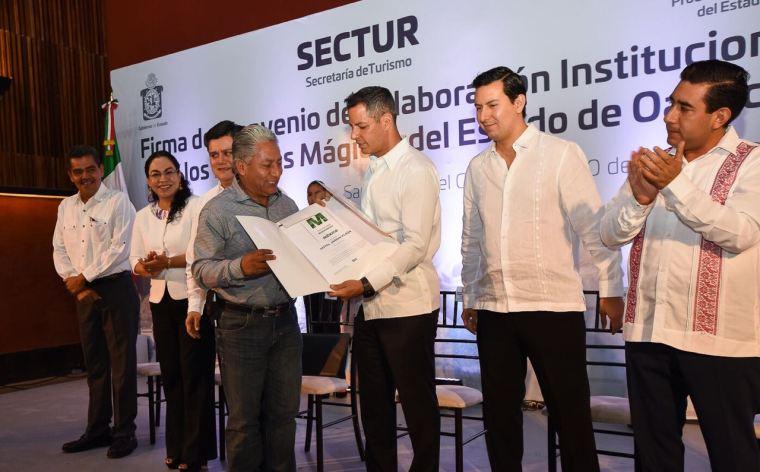 Dará Gobierno del Estado capacitación a prestadores de servicios turísticos de los 5 Pueblos Mágicos de Oaxaca (1)