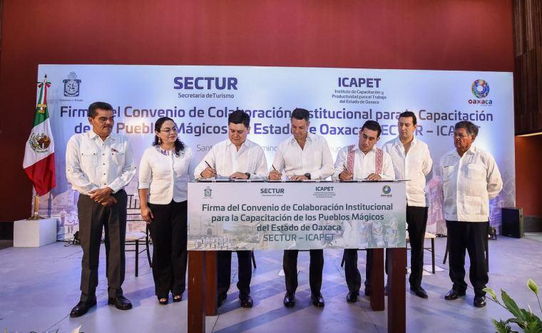 Dará Gobierno del Estado capacitación a prestadores de servicios turísticos de los 5 Pueblos Mágicos de Oaxaca (2)