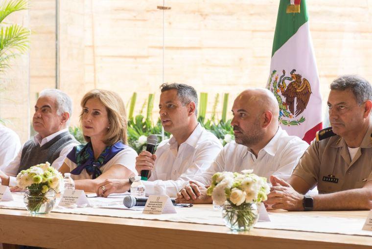 Firma convenio Gobierno con Sociedad Civil, para evaluar acciones en materia de seguridad (1)